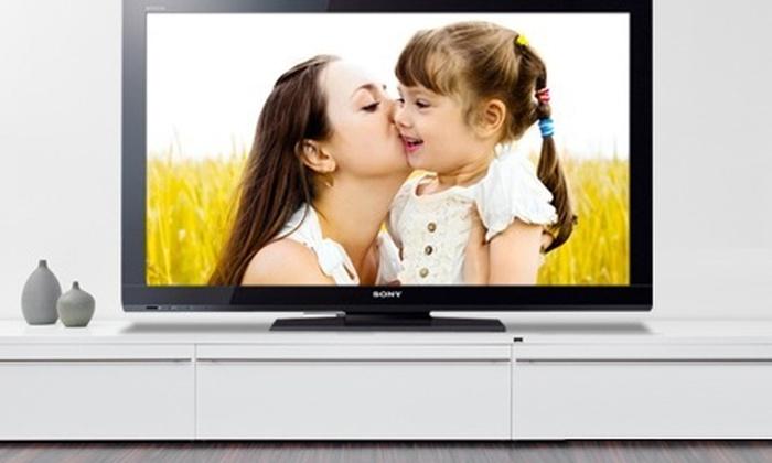 """Bembos: S/.1,549 en vez de S/.2,226.14 por televisor Sony Bravia LCD full HD de 40"""" con delivery"""