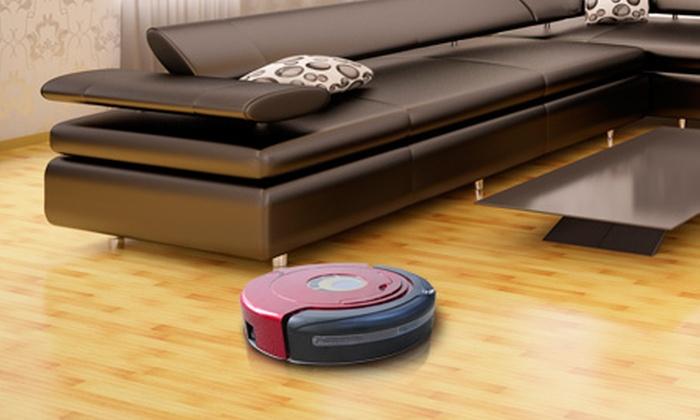 Groupon Shopping (Aspiradora inteligente): $199.990 por aspiradora inteligente RoboCle@n M-8500 con despacho en Cuántica Ltda.