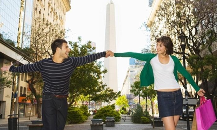 Groupon Travel (Buenos Aires): Buenos Aires para dos: paga desde $175.000 por persona para 2, 3 o 4 noches en hotel 3 estrellas + aéreos + tours + cortesías