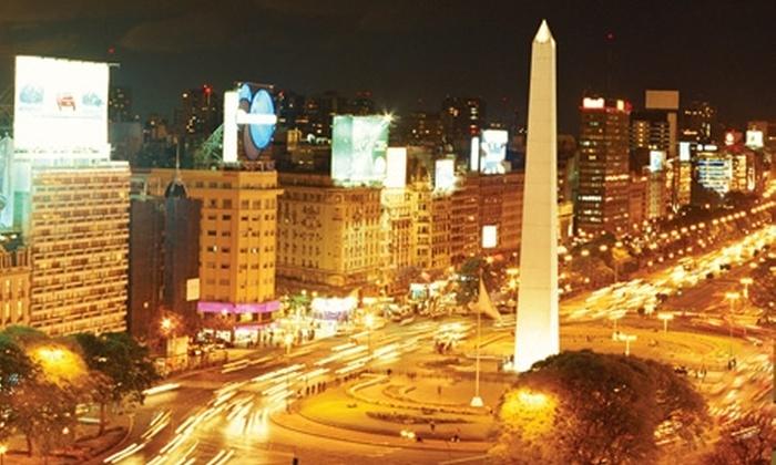 Groupon Travel (Buenos Aires): Buenos Aires: paga desde $175.000 por persona por 2, 3 o 4 noches para dos en Hotel Victory u Hotel Facón Grande + aéreos + tours