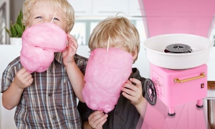 Groupon Shopping (máquina de algodón): Paga $24.990 por máquina de algodón de azúcar con despacho
