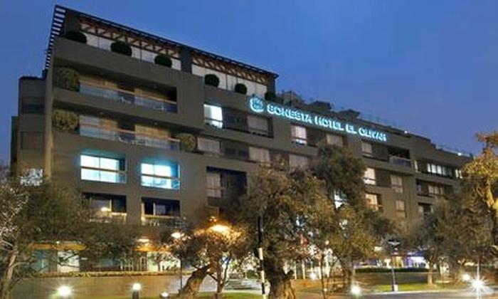 Bembos: Paga desde S/.299 por noche para dos en habitación a elegir + desayuno con Sonesta Hotel El Olivar, San Isidro (75% de descuento)