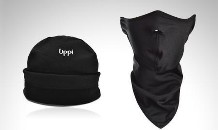 Lippi $19.990 en vez de $29.700 por máscara de frío + gorro deportivo Lippi .