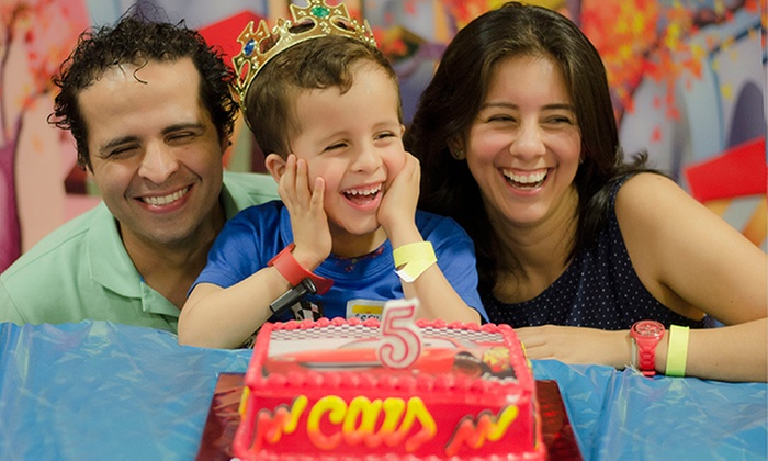 Divercity Barranquilla: $415.000 en vez de $830.000 por fiesta infantil para 10 niños y 10 adultos + salón decorado + pizza + recreaciónen Divercity Barranquilla