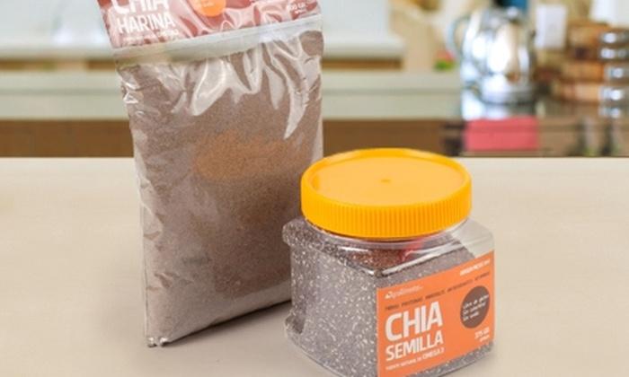 Agro Alimentos SPA: Paga $8.990 por frasco de chía mexicana + harina de chía en AgroAlimentos Spa. Incluye despacho
