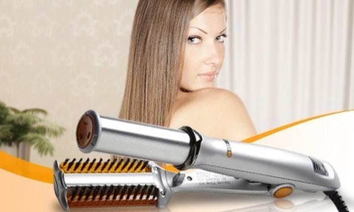 : $94.500 en vez de $324.500 por plancha giratoria para pelo con envío