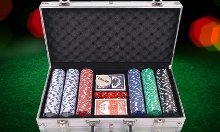 Groupon Shopping (juego de mesa): $22.990 en vez de $41.890 por maleta metálica de poker con 500 fichas. Incluye despacho