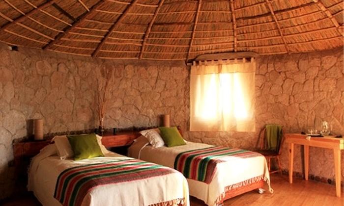 Ckamur Atacama Ethno Lodge - Ckamur Atacama Ethno Lodge: Doble espejismo en el desierto: paga desde $110.000 por 2 o 3 noches para dos en San Pedro de Atacama + desayuno + temazcal en Ckamur Atacama Ethno Lodge. Elige día de ingreso