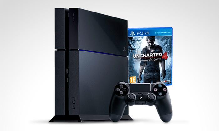 Iprotech: PlayStation 4 500GB versión Call of Duty o Uncharted 4 con retiro en tienda