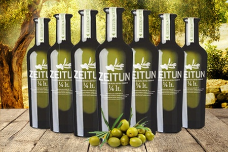 Zeitun: $11.990 en vez de $31.440 por 6 botellas de aceite de oliva premium marca Zeitun. Incluye despacho