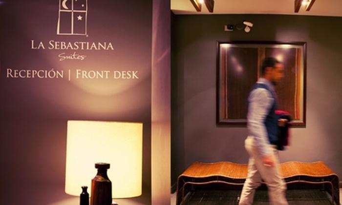 La Sebastiana Suites - La Sebastiana Suites: $59.200 en vez de $129.108 por noche romántica + desayuno buffet + botella de vino espumoso en La Sebastiana Suites, Las Condes