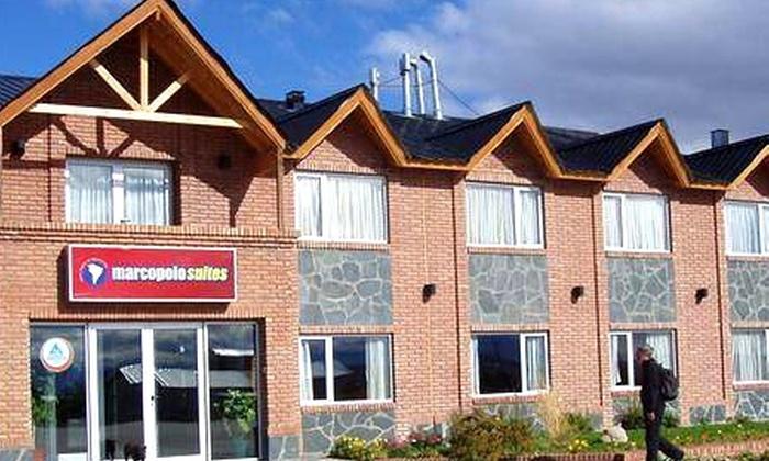 Marcopolo Suites: Patagonia argentina: desde $50.615 por 3, 4 o 5 noches para dos + desayuno buffet en hotel Marcopolo Suites, El Calafate