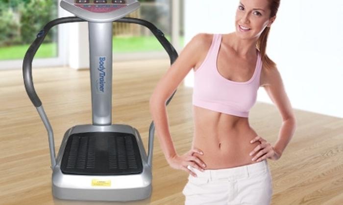 Groupon Shopping (plataforma vibratoria): $149.990 en vez de $386.600 por plataforma vibratoria Body Trainer de 1.5 HP con despacho