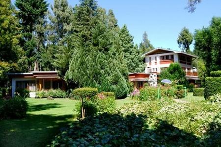 Hotel Interlaken: Paga desde $69.000 por 2, 4 o 7 noches para dos + desayuno americano + botella de espumoso + uso ilimitado de bicicletas en Hotel Interlaken, Pucón