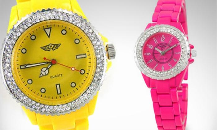 Ocean Heart: $799 por reloj hecho con SWAROVSKI ELEMENTS color a elegir Ocean Heart con envío