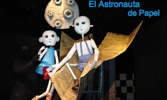 Teatro Mori - Teatro Mori: $1.800 en vez de $4.000 por entrada general para la obra El Astronauta de Papel en Teatro Mori Plaza Vespucio