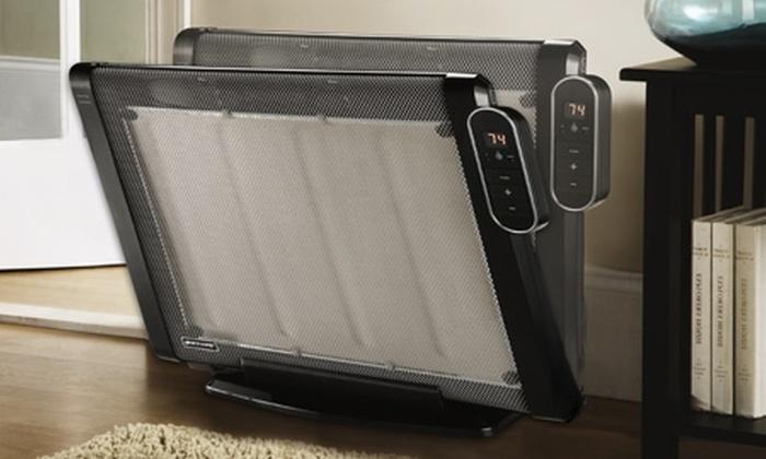 Groupon Shopping (calefactor): $27.990 en vez de $52.944 por calefactor Bionaire micatérmico para pared o piso con despacho