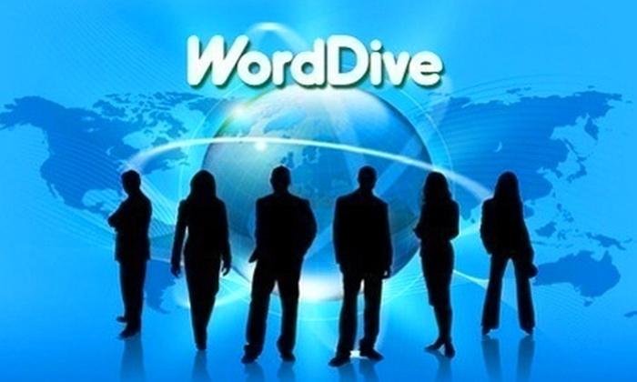 WordDive: Paga desde $6.870 por curso online de 6 o 12 meses a elección entre 5 idiomas en WordDive