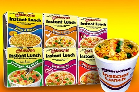 Maruchan: $7.500 en vez de $15.100 por 24 sopas Maruchan Instant Lunch con despacho. Elige sabor