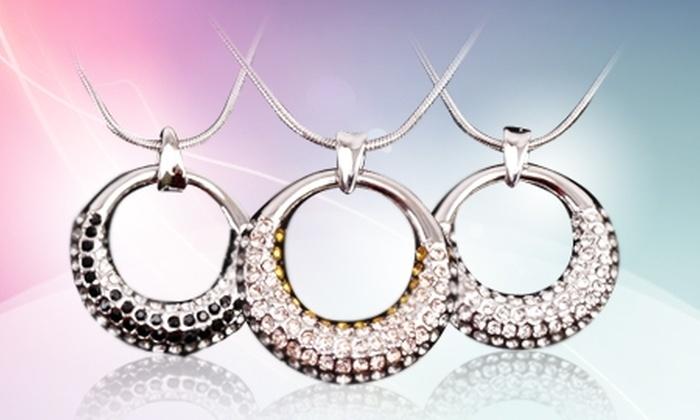 Femmeshop.cl: $11.190 en vez de $22.290 por colgante hecho con cristales austriacos color a elección con despacho en  Femmeshop.cl