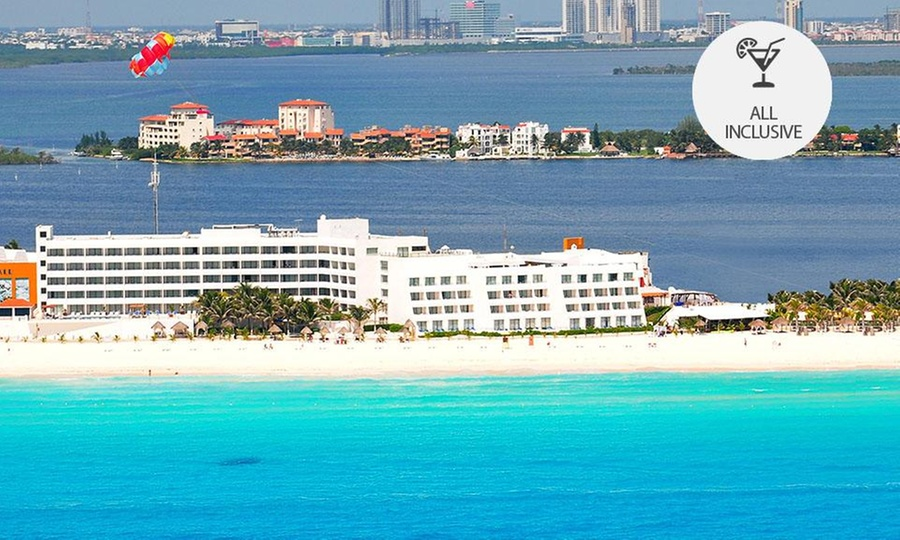 Flamingo Cancún Resort: Cancún: desde $4,999 por 2, 3, 4, 5 o 7 noches para dos + all inclusive en Flamingo Cancún Resort