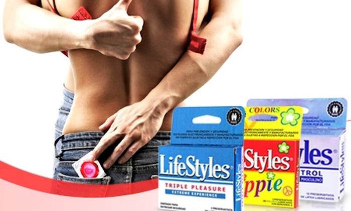 LifeStyles: $7.925 en vez de $15.850 por pack LifeStyles en Prater con despacho
