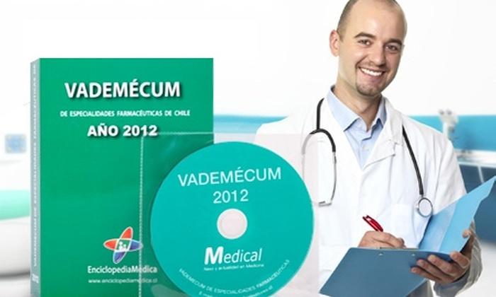 Slim & Health Medical Spa: $9.990 en vez de $23.052 por libro y CD Vademécum 2012 de especialidades farmacéuticas con Enciclopedia Médica. Incluye despacho