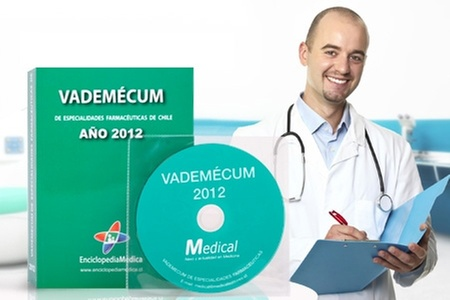 Slim & Health Medical Spa: $9.990 en vez de $23.052 por libro y CD Vademécum 2012 de especialidades farmacéuticas con Enciclopedia Médica. Incluye despacho