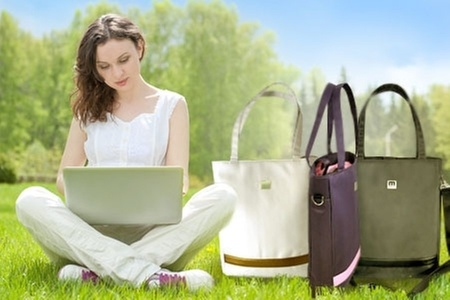 Groupon Shopping (Bolso para Notebook): $19.990 en vez de $41.800 por bolso de mujer para notebook marca Mein con despacho incluido. Elige el color
