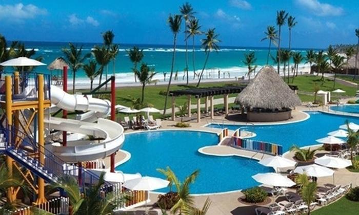 Groupon Travel (Punta Cana): Punta Cana all inclusive: paga desde $799.000 por persona en plan doble por 5 o 7 noches en Hard Rock Hotel & Casino + aéreos + US$1,500 de crédito en resort + traslados. Elige fecha de salida