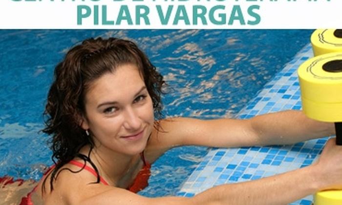 Centro de Hidroterapia Pilar Vargas: A la piscina: 4 clases de hidrogimnasia con aquaspinning por $5.000 en Centro de Hidroterapia Pilar Vargas