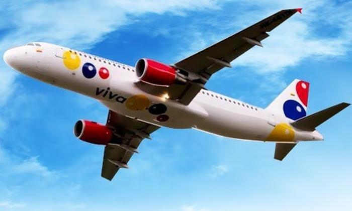 : $54.584 por tiquete aéreo de una sola vía desde Bogotá hacia Medellín con VivaColombia. Elige fecha y horario