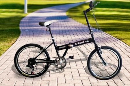 """Orbital: $74.500 en vez de $149.000 por bicicleta plegable Folding aro 20""""de  Orbital. Elige color"""