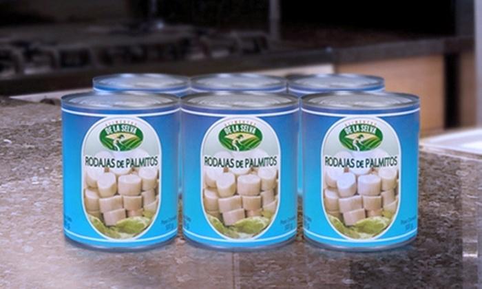 Agro Alimentos SPA: Paga desde $16.990 por 12 o 24 latas de palmitos marca Alimentos de la Selva con Agro Alimentos SPA. Incluye despacho