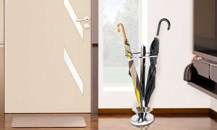 Groupon Shopping (Cortinas roller): $13.990 en vez de $28.899 por paragüero metálico con Decoramas. Incluye despacho