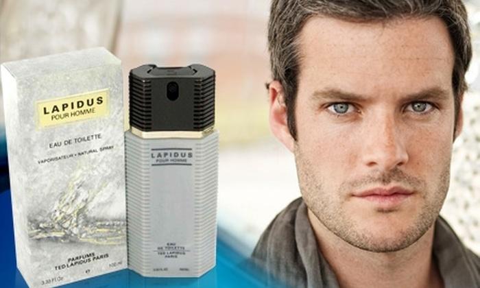 Groupon Shopping (Perfume): $12.740 en vez de $25.490 por perfume Ted Lapidus Pour Homme, con despacho