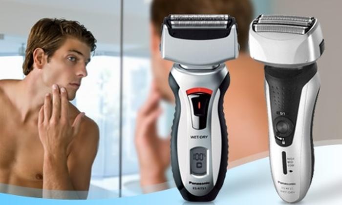Groupon Shopping ( Afeitadora Panasonic Wet & Dry ): Paga desde $21.990 por afeitadora Panasonic Wet & Dry modelo a elección con despacho