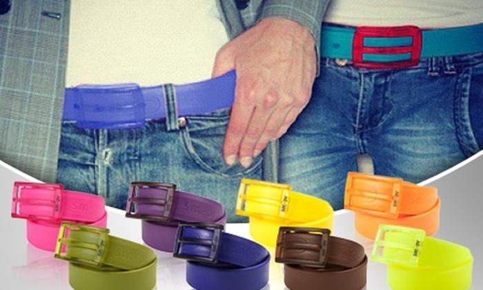 Smoov: Paga desde $6.990 por 1, 2 o 4 kit de cinturones con hebilla desmontable Smoov en colores a elección con despacho incluido
