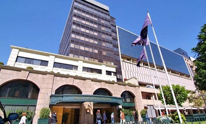Hotel Plaza San Francisco: Día de la Madre: $99.000 en vez de $203.556 por noche para dos + almuerzo para ella + desayuno buffet + vino espumoso + flores + late check out en Hotel Plaza San Francisco, Santiago