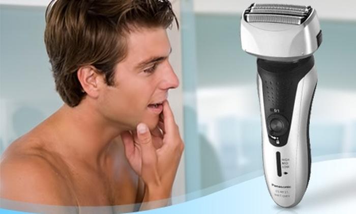 Groupon Shopping (Afeitadora Panasonic): $30.990 en vez de $51.620 por afeitadora Panasonic modelo ES-RF31-S503 con despacho