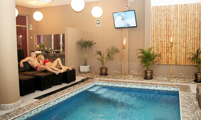 Circuito Hidrico : Emporio sauna spa groupon del día