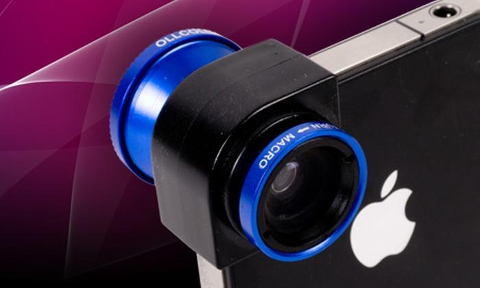 Groupon shopping (Lente para iPhone): Paga $23.990 por lente 3 en 1 para iPhone con despacho
