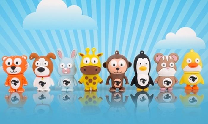 Pendrives.cl: $7.990 en vez de $15.990 por pendrive de 8 GB con forma de mascota a elegir en Pendrives.cl. Incluye despacho