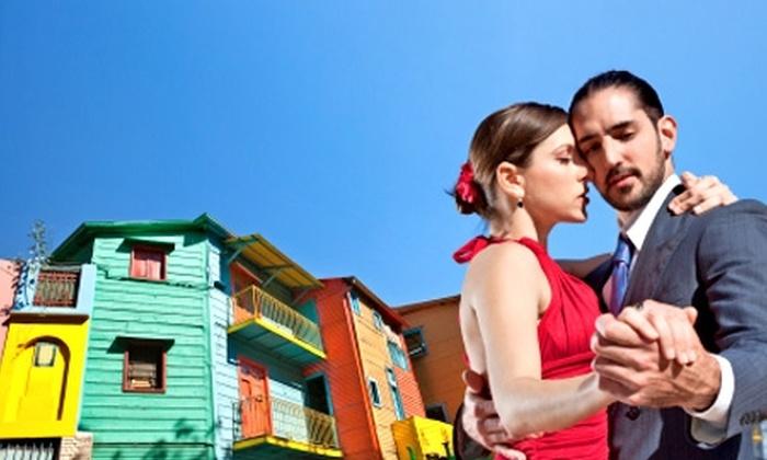 Groupon travel (Buenos Aires): Buenos Aires para dos: paga desde $169.000 por persona para 2, 3 o 4 noches en hotel a elegir + pasajes aéreos + tours + cortesías
