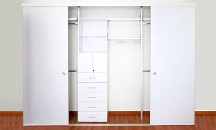 Closets modernos groupon del d a groupon for Closets modernos para parejas