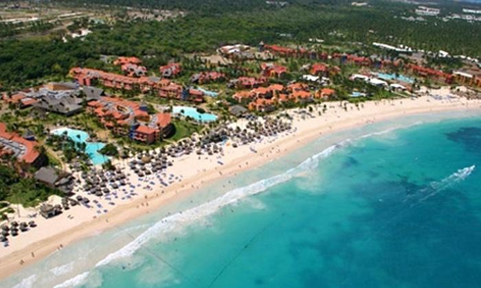 Groupon Travel (Punta Cana): Punta Cana para dos: desde $589.000 por persona para 5 o 7 noches con sistema all inclusive en hotel 4 estrellas a elección + traslados + aéreos