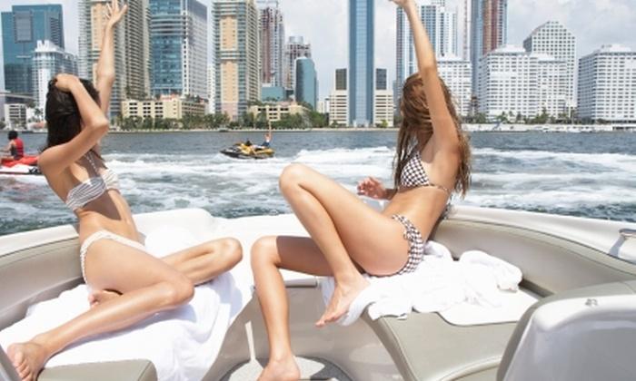 Groupon Travel (Miami): Recorre Miami en auto: paga desde $779.000 por persona por 6 noches para dos en hotel a elección + desayuno + aéreos + auto por toda la estadía. Elige fecha de salida