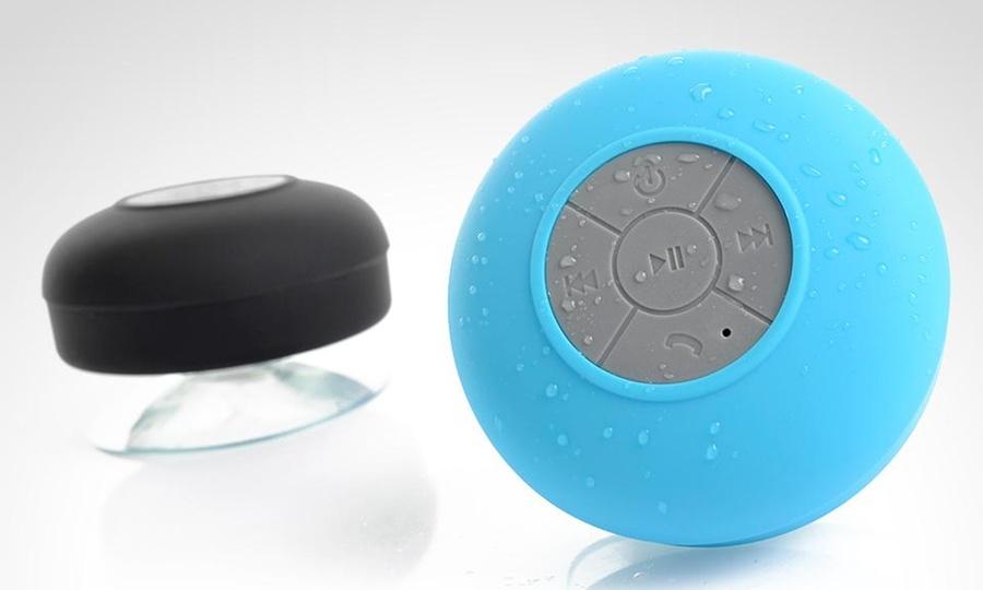 Groupon Shopping: Parlante para ducha en color a elección. Incluye despacho