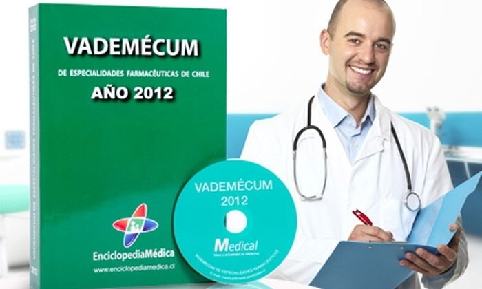 Slim & Health Medical Spa: $19.990 en vez de $40.650 por libro y CD Vademécum 2012 de especialidades farmacéuticas con Enciclopedia Médica. Incluye despacho