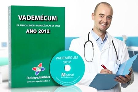 Slim & Health Medical Spa: $19.990 en vez de $40.650 por libro y CD Vademécum 2012 de especialidades farmacéuticas con Enciclopedia Médica. Incluye despacho